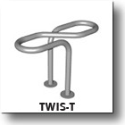Twis-T Commercial Outdoor Bike Security Rack