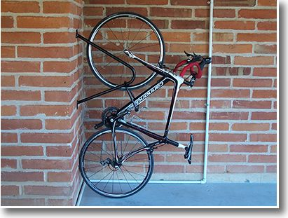 Wall Mount Stand Up Commercial Bike Racks Bike